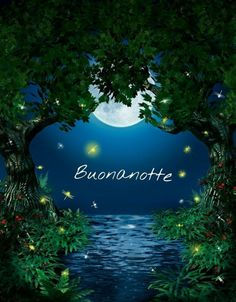 magiche immagini buonanotte per gli amici (6) Laku Noc, Good Night Blessings, Good Night Image, Day For Night, Happy Day, Sweet Dreams, Good Morning, Instagram Posts, Illusion
