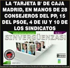 Tarjeta B de Caja Madrid