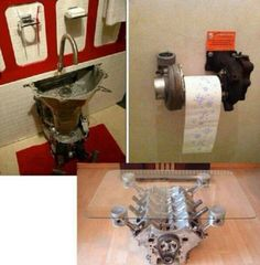 Thought these were cool - furniture & stuff made from car parts ;)