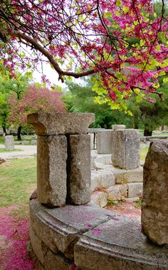 Visit Greece in spring to discover Olympia. This ancient site held the Olympic games in classical times.