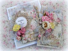 Wedding Card for Maja Design #majadesign #shabby #card #cardmaking #flowers #chipboard #scrapiniec #wedding