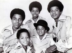 My American Dream Sounds Like The Jackson 5 - The Jackson 5 in a studio group portrait in 1969.