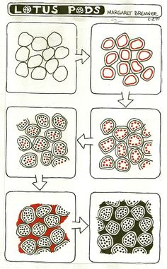 Enthusiastic Artist: tangle instructions