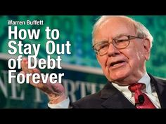 Warren Buffett - How to Stay Out of Debt- Financial Future of American Youth (1999) - YouTube