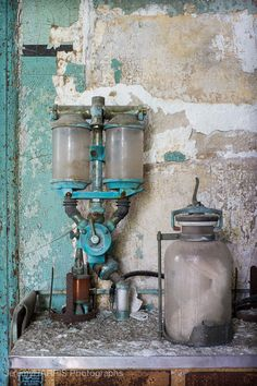 Vintage Medical Equipment.  Seaview Hospital, 2012.