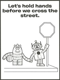 Yo Gabba Gabba Eyes Coloring Pages Free Printable   Coloring Pages ...