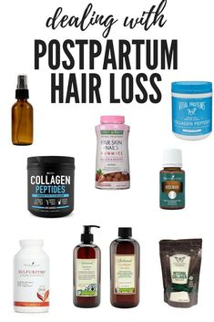 Dealing With Postpartum Hair Loss - Showit Blog