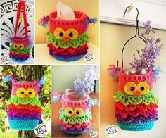 FabArtDIY Crocheted Owls Free Patterns18