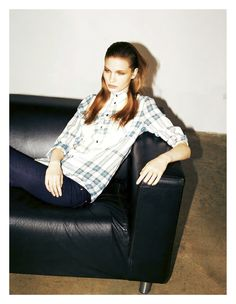 visual optimism; fashion editorials, shows, campaigns & more!: anna piirainen by massimo pamparana for io donna 30th march 2013