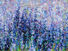 Original art for sale at UGallery.com | Lavender II by Ina Shtukar | $1,975 | acrylic painting | 30' h x 40' w | http://www.ugallery.com/acr...