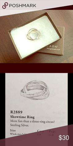 Silpada ring R2889 Showtime ring size 8 Silpada Jewelry Rings
