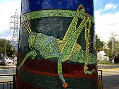 .grasshopper - Natural History Museum in Mosaic - Chile: Isidora Paz López