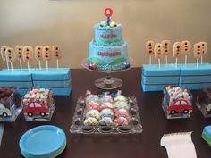 car birthday theme