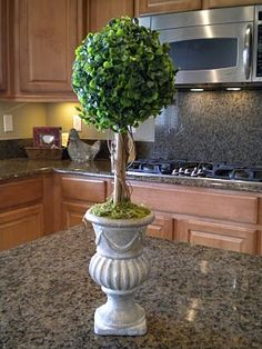 {Noting Grace} | DIY Ballards Topiary - How to make your own Topiary knock off on the cheap using boxwood balls