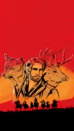 phone wall paper red Arthur Morgans spirit animal(s) Phone Wallpaper- KiKoulol- Of Wallpaper, Wallpaper Backgrounds, Mobile Wallpaper, Disney Wallpaper, Wallpaper Quotes, Red Dead Redemption 1, Read Dead, The Witcher Geralt, 4k Background