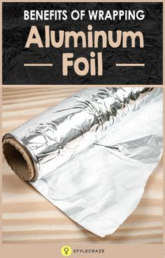 Aluminum foil is usually always present at our home, and we use it for cooking and packing food.