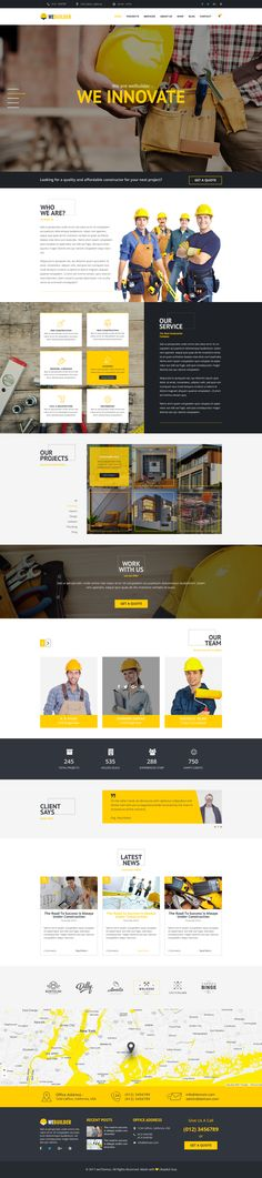 WEBUILDER is Construction & Building PSD Template. PSD files are well organized and named accordingly so it is very easy to customize and update. We hope you will like our hard work.  #architecture, #building, #company, #constructionstore, #constructor, #contractor, #corporate, #electrician, #engineeringshop, #handyman, #industry, #painter, #plumber, #remodeling, #renovation