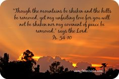As dawn breaks, I will sing! He drenches us in His radiant love.