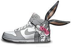Nike sneaks by Daniel Reese