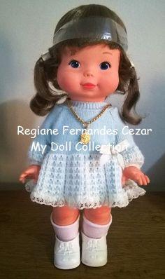 #Boneca #Mechinha, #Estrela, 1984 Essa lindinha foi um presente maravilhosamente inesperado Quer saber mais sobre essa estória? http://mydollcollectiongigifernandes.blogspot.com.br/search/label/Mechinha