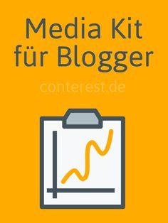 Alles über das Media Kit für Blogger — Conterest Blog  #bloggerrelations