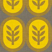 wheat_linen - holli_zollinger - Spoonflower