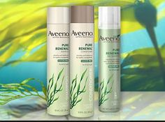 Aveeno Giveaway! Hurry up :) http://www.chicanol.com/aveeno-pure-renewal-collection-giveaway-sorteo-aveeno-pure-renewal-collection/