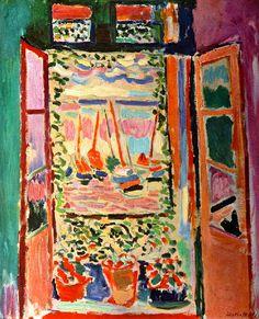 La fenetre ouverte Henri Matisse
