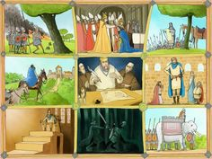 Vensterplaat Karel de Grote