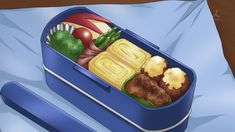 My adventures with culture gaps, Anime and one hungry husband Anime Bento, Omurice, Food Drawing, Recipe Images, Desert Recipes, Real Food Recipes, Food And Drink, Favorite Recipes, Food Illustrations