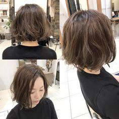 お客様ヘア☆ 切りっぱなしボブ×グレージュカラー。 仕上げは無造作なくせ毛風に動かしながらセミウエットな質感。 いつもありがとうございます(^^) 2017/04/29 #hair #haircut #haircolor #hairstyle #ヘアカラー #wethair #yukawork #グレージュ #スモーキーカラー #grey #gray #くせ毛風 #smokeycolor #hairdye #コテ巻き #hairsalon #breach #ハイライト #highlight #bob #ワンレンボブ #きりっぱなしボブ #表参道 #omotesando #青山 #aoyama #東京 #tokyo #cupola #cupolaomotesando