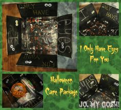Halloween care package #milso #milspouse #deployment