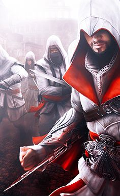 My phone wallpaper collection - images/slides added under category of Popular Memes and Images Assassins Creed Kostüm, Assasins Cred, Assassin's Creed Videos, Ezio, Assassin's Creed Brotherhood, Fantasy Costumes, Fantasy Warrior, Kirito, Les Oeuvres