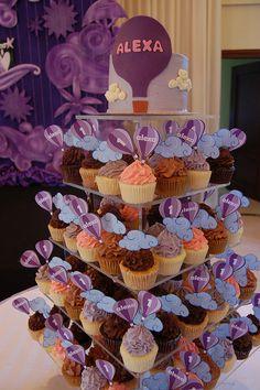 Alexa's Purple Dream : A Hot Air Balloon Inspired Birthday Party!, via Flickr.
