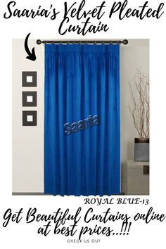 Pleated Curtains, Home Curtains, Velvet Curtains, Curtain Panels, Panel Curtains, Custom Made Curtains, Beautiful Curtains, Sound Proofing, Home Theater