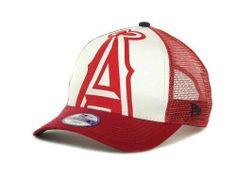 "Los Angeles Angels MLB New Era 9Forty ""Flocked"" Toddler/Youth Snapback Hat New #NewEra #LosAngelesAngels"