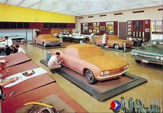 OG | Chevrolet Corvair | Design led by Bill Porter at the Chevy Studio