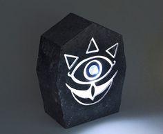 Lampara de la piedra Sheikah Legend of Zelda. por PepitosAtelier