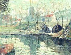 View Misty day in March by Ernest Lawson on artnet. Browse upcoming and past auction lots by Ernest Lawson. American Impressionism, Impressionist, Ashcan School, A Days March, Misty Day, Art Students League, Urban Landscape, American Artists, Art Museum
