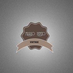Logo Design  Premade logo customizable for Vintage by ONESMFA, $8.00