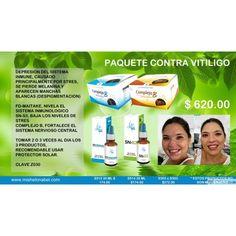 El Vitiligo es causado por una depresión del sistema inmunológico, puede ser causado por el estrés.