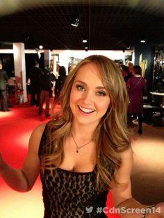 Amber at the Canadian Screen Awards