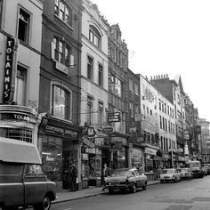 Wardour St,London in 1962.