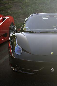 black 458 italia