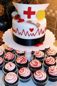 Cuando Mafe se gradue le prometo una torta decorada igualita a esta.