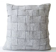 Amore Weave Throw Handmade Pillowcase - Gray (16 x 16) Amore Beaute http://www.amazon.com/dp/B00NGR22JG/ref=cm_sw_r_pi_dp_5PDXwb00CVDE3