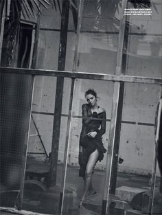 Vogue Italy March 2016 Mariacarla Boscono by by Peter Lindbergh-7