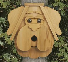 Cedar Cat & Dog Birdhouse Patterns