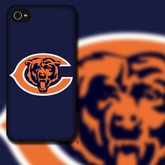 Hey, I found this really awesome Etsy listing at https://www.etsy.com/listing/110944118/chicago-bears-design-on-black-rubber