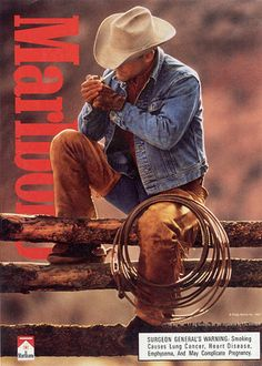 marlboro-man; see comments under anti-smoking campaign